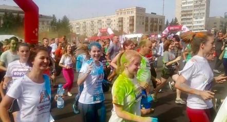 Зернова База приняла участь у напівмарафоні